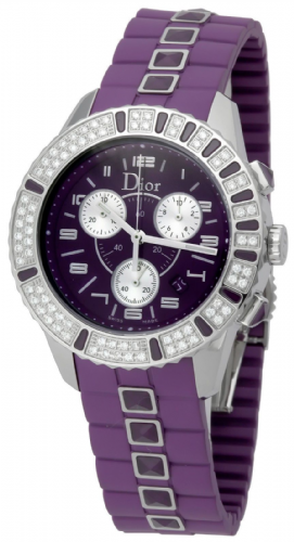 CHRISTIAN DIOR Christal Diamond & Sapphire Ladies Watch CD11431JR001
